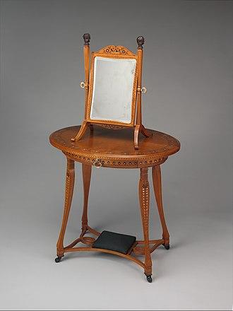 George A. Schastey - Image: Dressing table MET DP306892