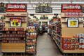 Drinks aisle of Smith's Food and Drug in Gillette, Wyoming.jpg