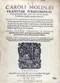 Du Moulin - Tractatus commerciorum, 1616 - 149.tif