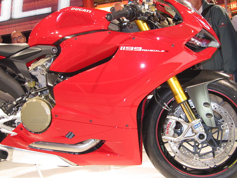 Ducati Panigale Front View