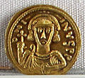 Ducato di benevento, emissione aurea di gisulfo II o interregno, zecca di benevento, 758.JPG