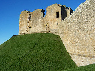 Davidian Revolution - Duffus Castle, possibly begun by Freskin, one of David's most successful small scale military immigrants.