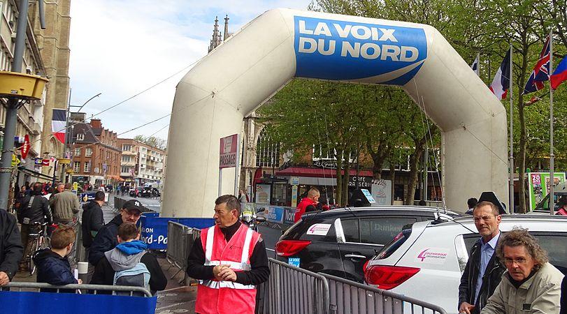Dunkerque - Quatre jours de Dunkerque, étape 1, 6 mai 2015, départ (B015).JPG