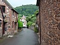 Dunster Castle - road past Dairy Cottage - geograph.org.uk - 1702303.jpg