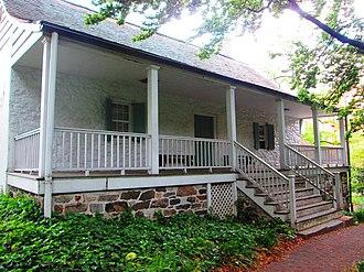 Dyckman House - Image: Dyckman House rear porch