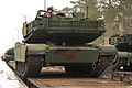 EAS M1A2s arrive in Grafenwoehr (12234856496).jpg