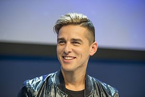 Lithuania in the Eurovision Song Contest 2016 - Donny Montell during a press meet and greet