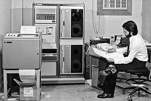 HP 2100 - Image: ESO Hewlett Packard 2116 minicomputer