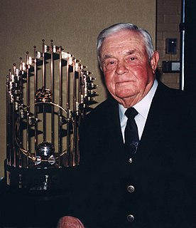 Earl Weaver American baseball player, coach and announcer