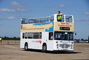 East Kent bus O977 (RVB 977S), 2010 North Weald bus rally (2).jpg
