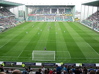 Hibernian F.C. - Easter Road in 2010.