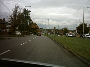 A58 road - Image: Easterly Road
