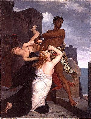 Édouard-Théophile Blanchard - Image: Edouard Théophile Blanchard La mort d'Astyanax