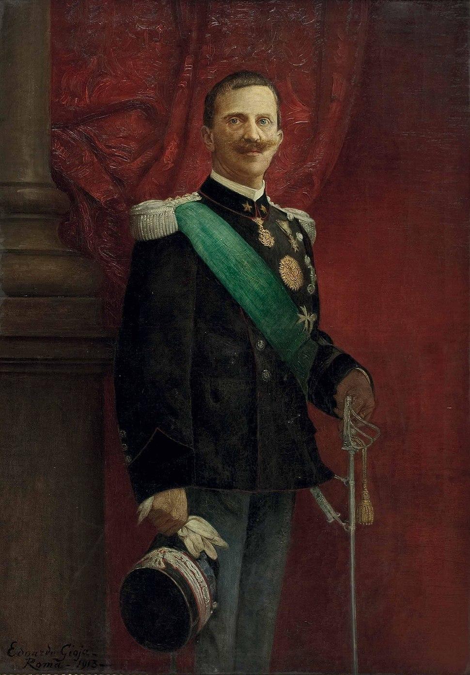 Eduardo Gioja Viktor Emanuel III 1913