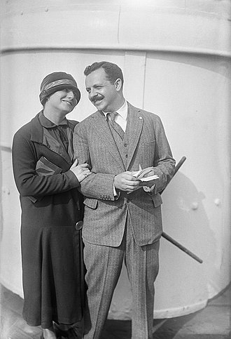 Doris Fleischman - Edward Bernays and Doris E. Fleischman in March 1923