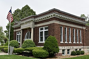 National Register of Historic Places listings in Kankakee County, Illinois - Image: Edward Chipman Public Library