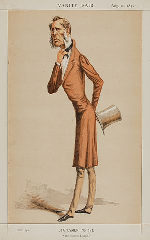 Edward Horsman - Horsman by Lyall in Vanity Fair, 1872