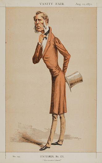 Edward Horsman - Horsman by Lyall in Vanity Fair, 1872
