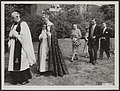 Eerste steen gelegd voor de nieuwe Engelse en Amerikaanse Episcopale kerk aan de, Bestanddeelnr 108-0135.jpg