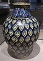 Egitto, vaso balaustra con motivo ovale, XIV-XV sec..JPG