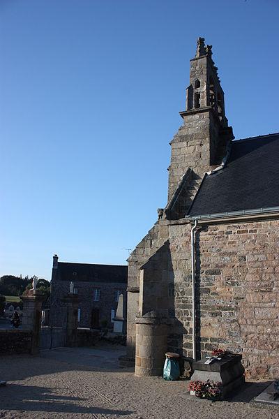 Church of Kerfot (Côtes d'Armor, Brittany, France)
