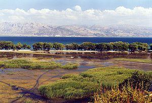 Eğirdir - An outlook of Lake Eğirdir