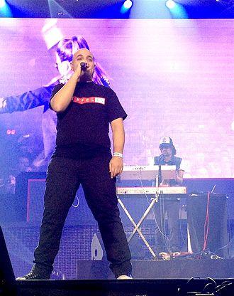 Eiffel 65 - Eiffel 65 performing at Ethias Arena, Hasselt (April 2013)