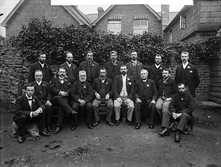 Eisteddfod committee, Llanfair Caereinion (1894)