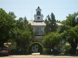 Carter County, Montana - Image: Ekalaka MT Carter County Courthouse