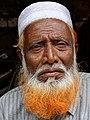 Elderly Man with Hennaed Beard - Old City - Dhaka - Bangladesh (12850630365).jpg