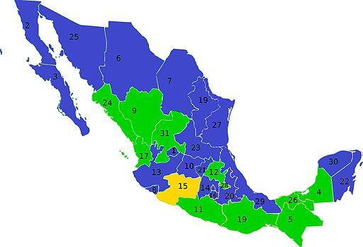 Elecciones Mexico Resultados 2000