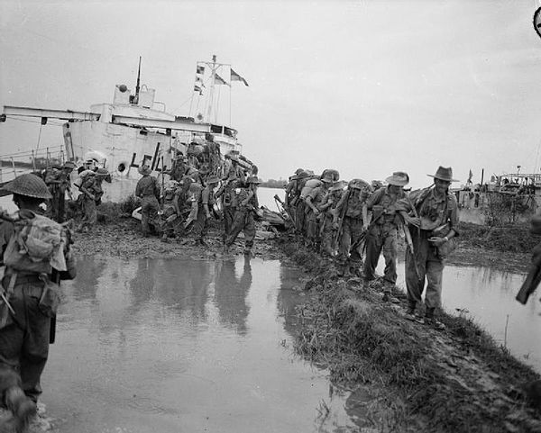Operation Dracula was the last major amphibious landing in the Indian Ocean. ElephantPoint01.jpg