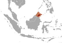 Elephas maximus borneensis map.png