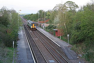 Elton and Orston railway station Railway station in Nottinghamshire, England