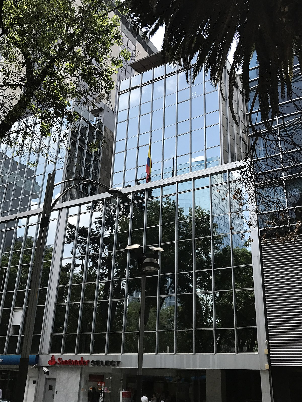 Embassy Of Colombia, Mexico City