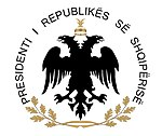 Emblem of the President of the Republic of Albania.jpg