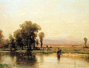 Encampment along the Platte