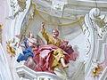 Engelszell Stiftskirche - Deckenfresko Chor 2 Matthäus.jpg