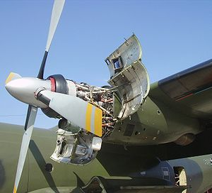 Engine of a Transall C-160.jpg