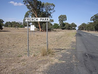 French Park, New South Wales - Entering French Park