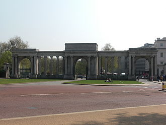 Hyde Park, London - Decimus Burton's Hyde Park Gate/Screen