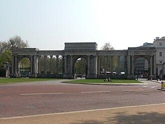 Hyde Park, London - Decimus Burton's Hyde Park Gate/Screen