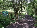 Entrance to Ynys Mond Forest - geograph.org.uk - 831247.jpg