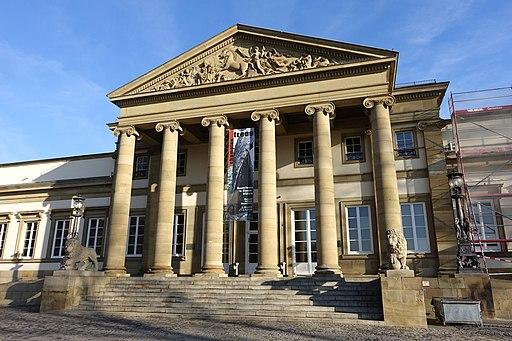 Entryway - Schloss Rosenstein - Stuttgart, Germany - DSC01662
