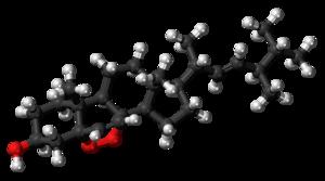 Ergosterol peroxide - Image: Ergosterol peroxide molecule ball