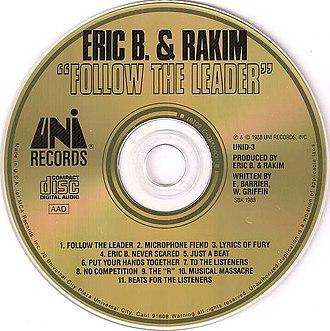 Follow the Leader (Eric B. & Rakim album) - The CD version of the album.