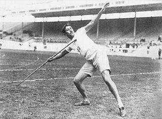 Athletics at the 1908 Summer Olympics – Mens javelin throw Athletics at the Olympics