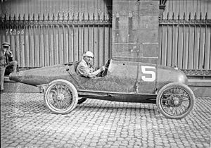 Ernest Friderich - Friderich at the 1922 French Grand Prix