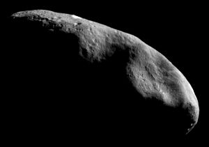 Human mission to an asteroid - 433 Eros is a near-Earth asteroid.