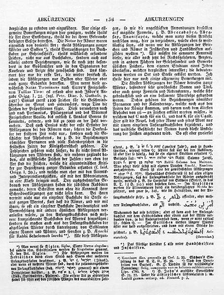 Datei:Ersch-Gruber Beispielseite Abkürzungen 1818ff.jpg
